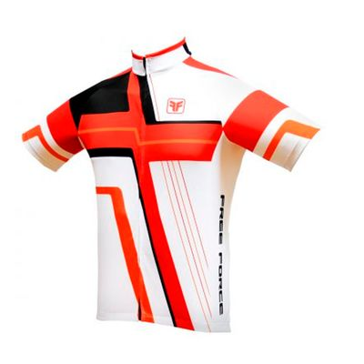 Camisa Free Force Cross Vermelho/Branco M