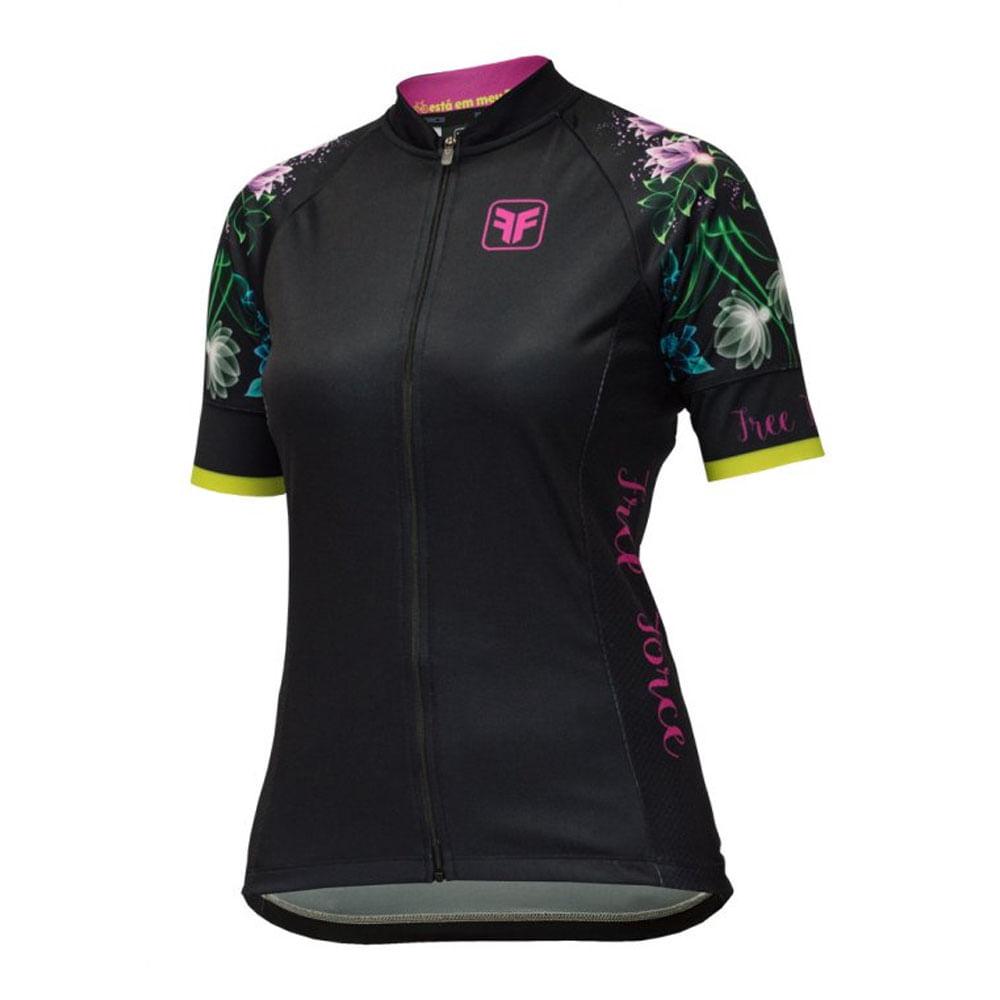 Camisa Ciclismo Free Force Feminina Delicacy- Ciclo Assunção ... 7954f6b82c