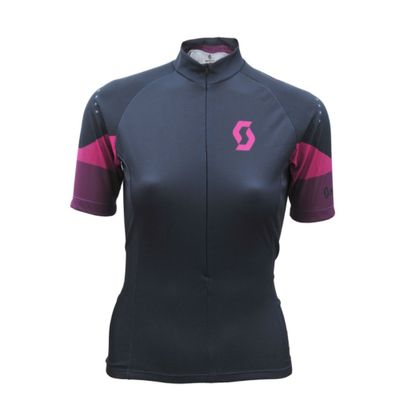 Camisa Ciclismo Feminina Scott Endurance 30 Chumbo