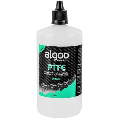 Lubrificante Algoo à base de PTFE úmido para correntes 200ml