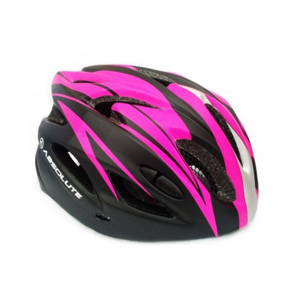 Capacete Ciclismo Absolute Nero WT012 Preto Rosa- Ciclo Assunção ... b7b384839c