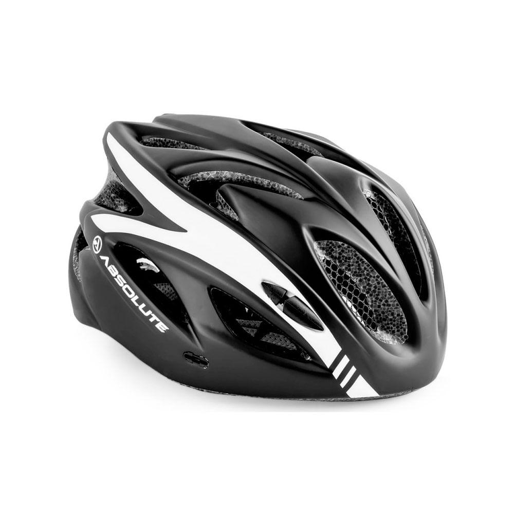 Capacete Ciclismo Absolute Nero WT012 Preto- Ciclo Assunção ... b9f265b887