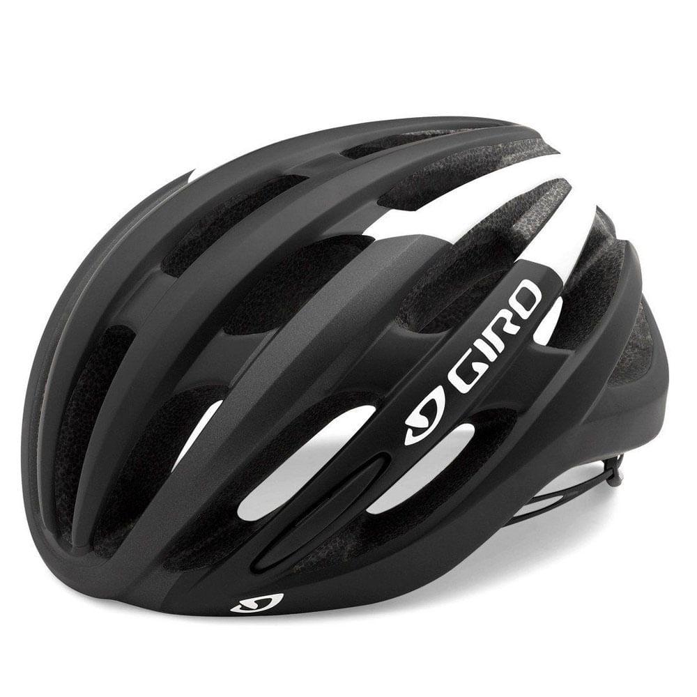 Capacete Ciclismo Giro Foray Preto- Ciclo Assunção - Ciclo Assuncao 46724cc383