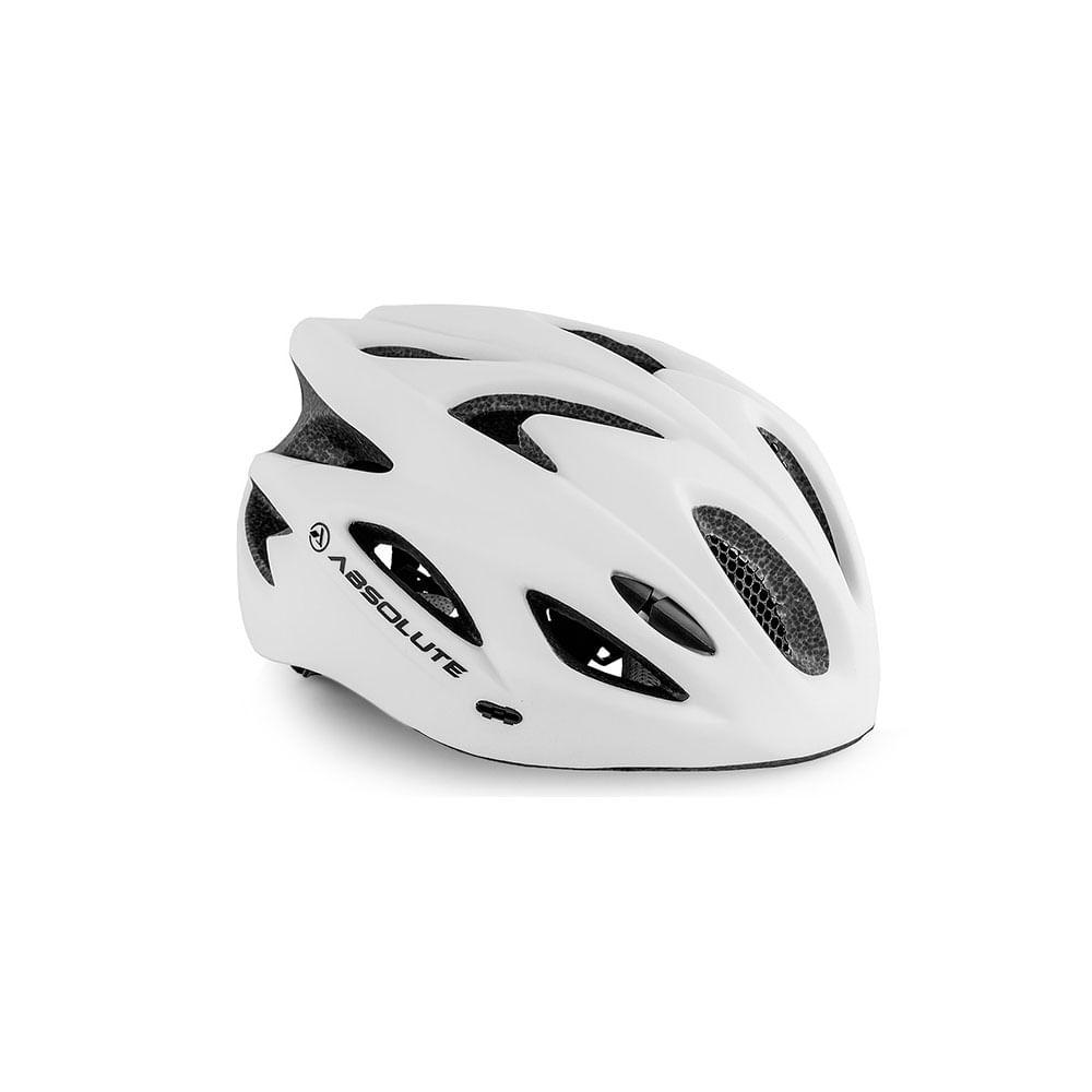 Capacete Ciclismo Absolute Nero WT012 Branco- Ciclo Assunção ... 967bfad5d9