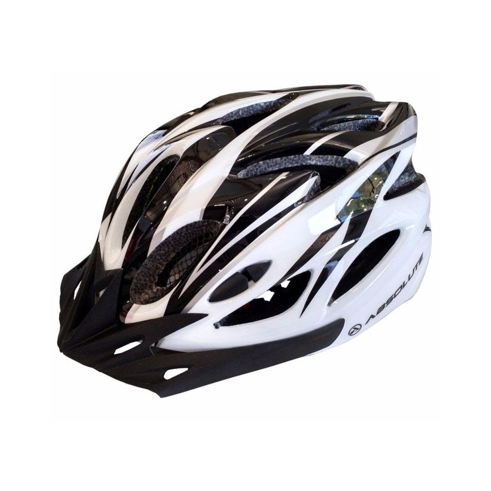 Capacete Ciclismo Absolute Nero WT012 Branco Preto- Ciclo ... 62e66159ce