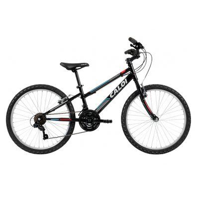 ff09e03b5 Bicicleta Caloi Forester Aro 24 Preta A18