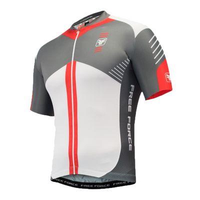 Camisa Ciclismo Free Force Evo Upper Cinza