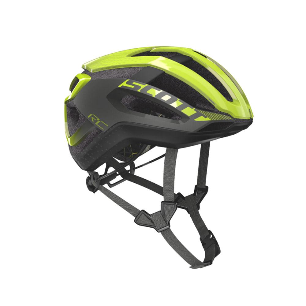 Capacete Ciclismo Scott Centric Plus (Ce) Amarelo Fluor - Ciclo Assuncao ffe273a295