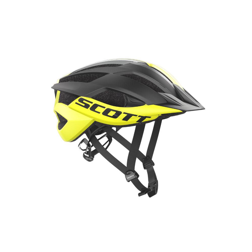 Capacete Ciclismo Scott Arx MTB Amarelo Preto- Ciclo Assunção ... 13e5572fbd